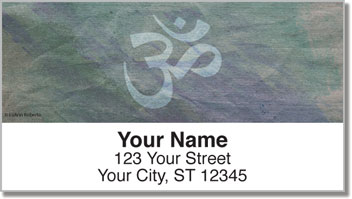 Yoga Life Address Labels