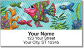 Embry Fish Address Labels
