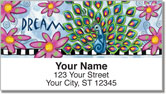 Embry Peacock Address Labels