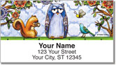 Embry Woodland Friend Address Labels