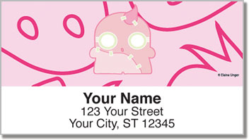 Strawberry Ghouleh Address Labels