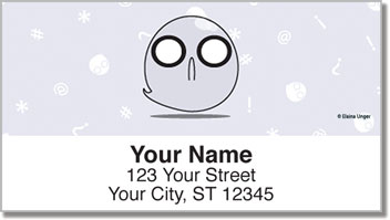 Willy the Ghost Address Labels