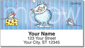 Cat-n-Mouse Address Labels