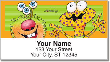 Monster Address Labels