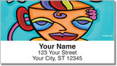 Coffee and Latte Address Labels