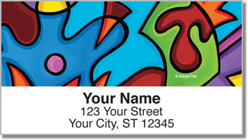 Pop Abstract Address Labels