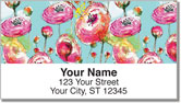 Breezy Blooms Address Labels