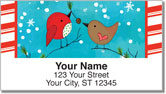 Chirp Chirp Cheer Address Labels