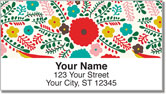 Hippie Chic Address Labels