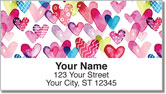I Heart You Address Labels