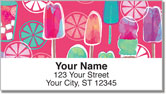 Popsicle Delight Address Labels