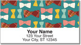 Vintage Bookwork Address Labels