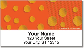 KAB Designs Bubble Address Labels
