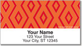 15 Diamond Row Address Labels