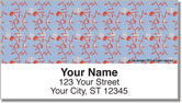 Jungle Print Address Labels
