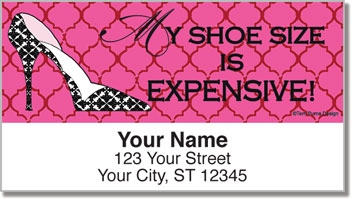 Terri Puma Shoe Lover Address Labels
