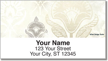 Soft Enchanted Lotus Address Labels