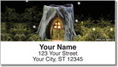 Fairy Home Address Labels