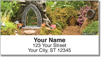 Woodland Fairy Address Labels
