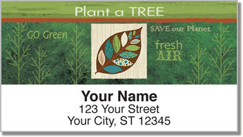 Gina Linn Eco Address Labels