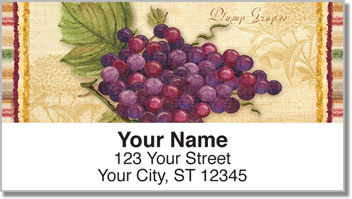 Vintage Fruit Address Labels