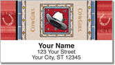 Western Hats Address Labels