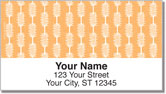 Tatted Stripes Address Labels