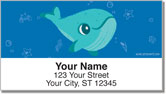 Schmitz Whale Address Labels