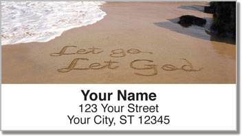 Recovery Sand Scribbles Address Labels