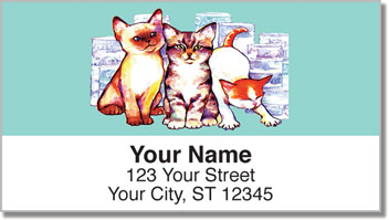 Wat Cat Address Labels