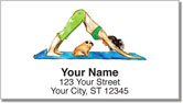 Wat Yoga Address Labels
