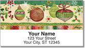 Zipkin Christmas Address Labels
