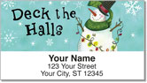 Zipkin Snowmen Address Labels