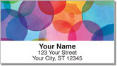Margaret Berg Rainbow Address Labels