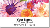 Spring Floral Address Labels
