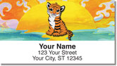 Cuddly Creatures Address Labels