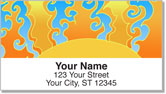 Valencia-Bruch Pop Art Address Labels