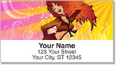 Sassy Girl Address Labels