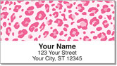 Urban Leopard Address Labels