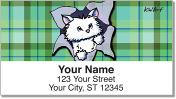 Cat Series 3 Address Labels