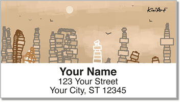 CityScapes Address Labels