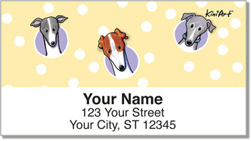 Greyhound Address Labels