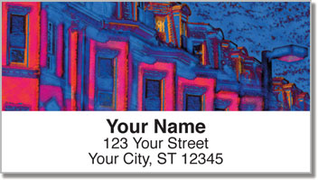 Boston Address Labels