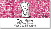 Westie Address Labels
