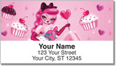Sugar Doll Address Labels