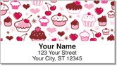 Cupcake Shoppe Address Labels