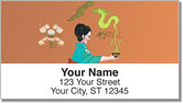 Asian Art Address Labels