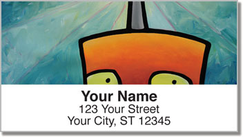 Electric Connection Address Labels