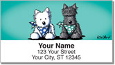 Terrier Friends 2 Address Labels