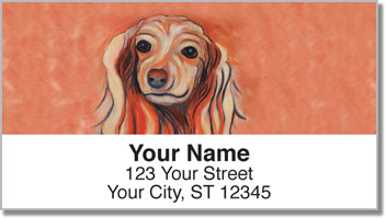 Dog Days 2 Address Labels